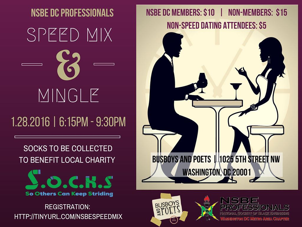 Speed dating for black professionals